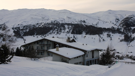 Hotel Paré has the best view on the Livigno valley
